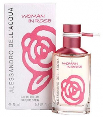 Alessandro Dell Acqua Woman In Rose